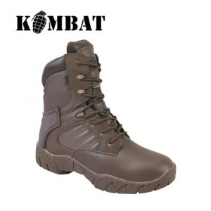 Kombat Tactical Pro Boot – 50/50 Leather Nylon – MOD Brown