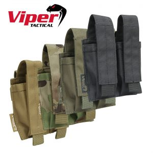 Viper Tactical Double Pistol Mag Pouch