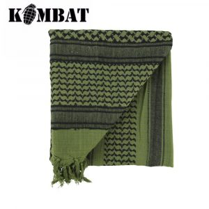 Kombat Tactical Shemagh Scarf – Olive/Black