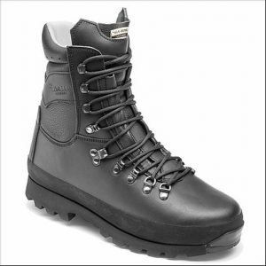 Altberg Warrior Microliite Military Combat Boot – Black