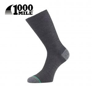 1000 Mile Ultimate Lightweight Walking Sock – Charcoal