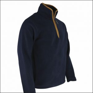 Huntsbury Country Fleece Pullover – Navy