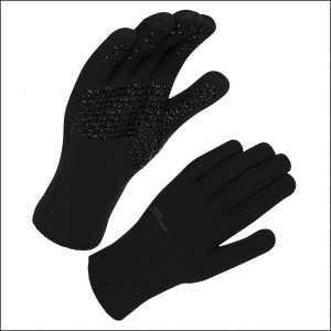 Sealskinz Waterproof All Weather Ultra Grip Knitted Glove – Black