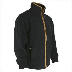 Huntsbury Country Fleece Jacket – Black