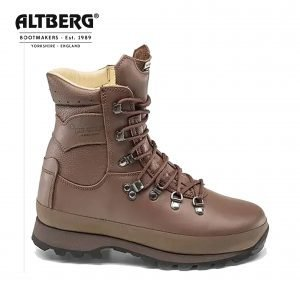 Altberg Warrior Microliite Military Combat Boot – MOD Brown