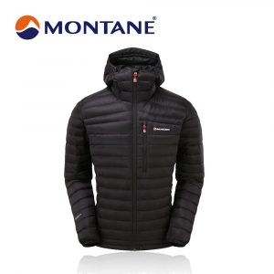 Montane Men's Featherlite Down Jacket – Black.