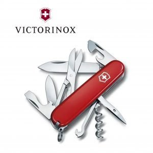 Victorinox Climber Swiss Army Knife – Red