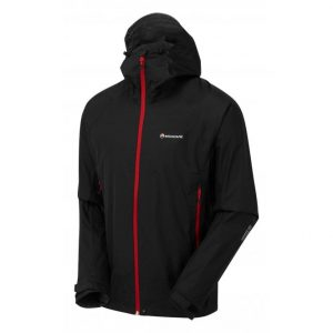 Montane Men's Meteor Waterproof Jacket – Black.