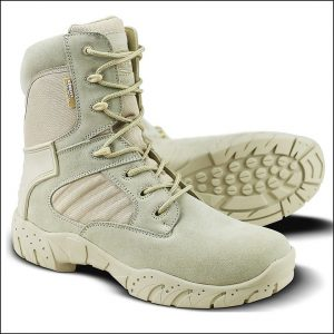 Kombat Tactical Pro Boot – 50/50 Leather Nylon – Coyote