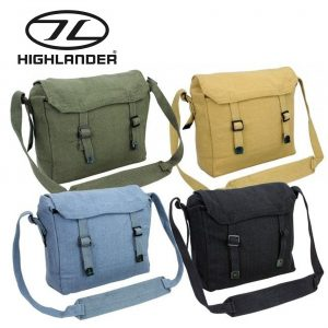 Highlander Webbing Haversack – 3 Colours