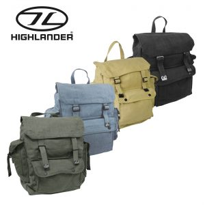 Highlander Large Pocketed Web Backpack – 4 Colours