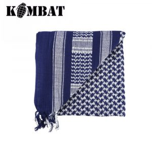 Kombat Tactical Shemagh Scarf – Blue/White