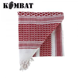 Kombat Tactical Shemagh Scarf – Red/White